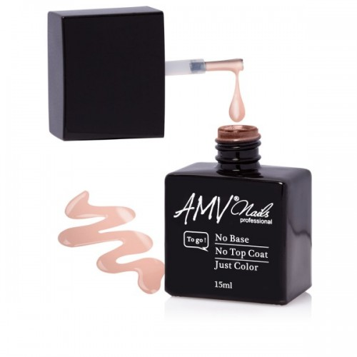 Gel lac 3 in 1 AMV Nails -Light Nude