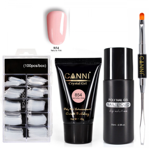 Canni Poly Gel Kit -854