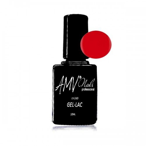 AMV -Lac Gel De Luxe Red